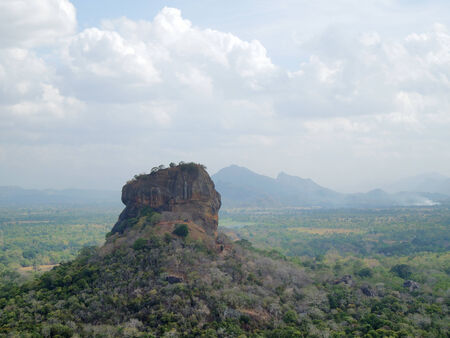 sigiriya: sunny impression around Sigiriya. Stock Photo