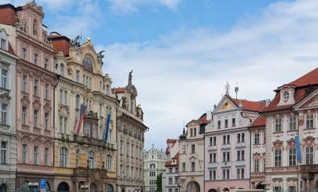 urbanized: impression of Prague, the capital and largest city in the Czech Republic Stock Photo