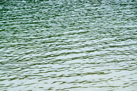 full frame abstract rippled water surface detail Stock Photo