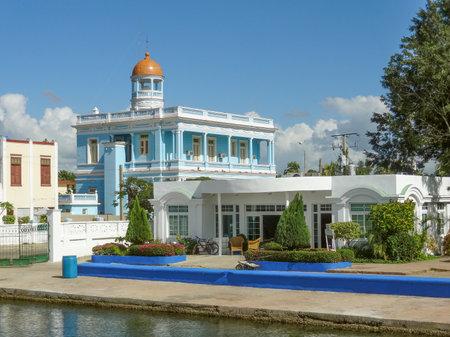 palacio: Palacio Azul building at Punta Gorda in Cuba
