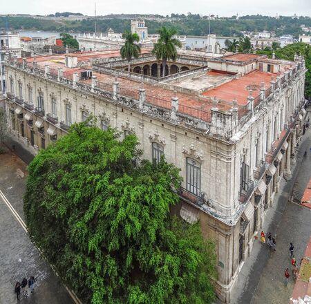 the capital city: aerial view of Havana, the capital city of Cuba