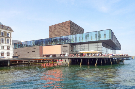 playhouse: waterside scenery including the Royal Danish Playhouse in Copenhagen, the capital city of Denmark