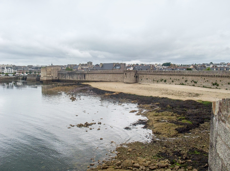 town named Concarneau in the Finistere department of Brittany in France