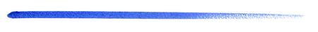 white back: a blue watercolor brush stroke in white back