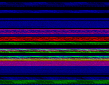 data loss: colorful abstract data loss theme showing a corrupted image