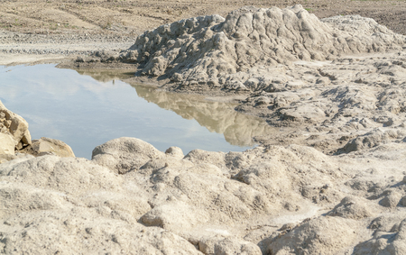 moistness: small pond in a stone pit