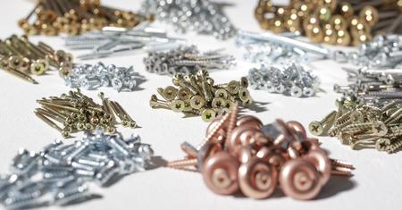 helical: lots of various screws in light back