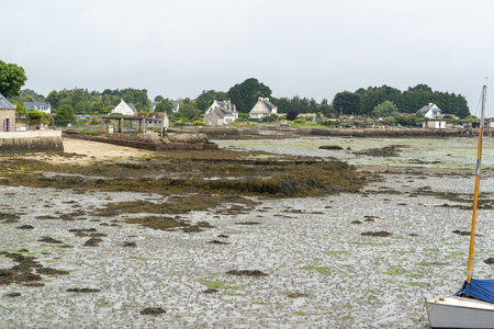 commune: Scenery around Larmor-Baden, a commune in the Morbihan department of Brittany in north-western France.