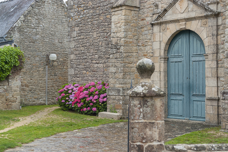 commune: architectural detail in Larmor-Baden, a commune in the Morbihan department of Brittany in north-western France.