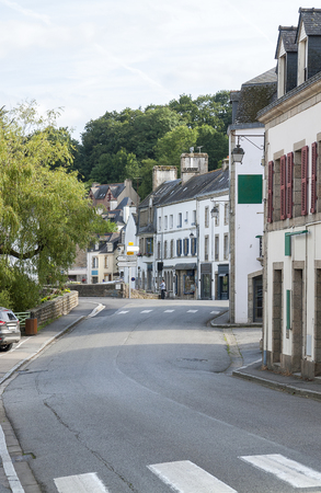 commune: scenery at Pont-Aven, a commune in the Finistere department of Brittany in northwestern France.