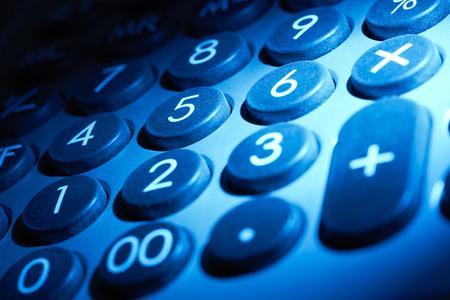 teclado numérico: azul de fotograma completo detalle iluminado teclado numérico