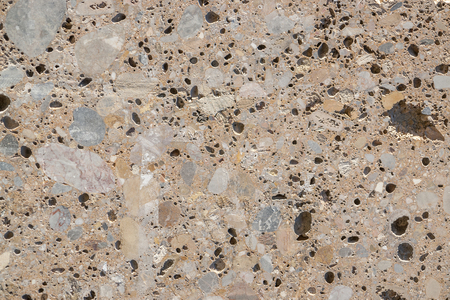 holey: full frame abstract porous stone background