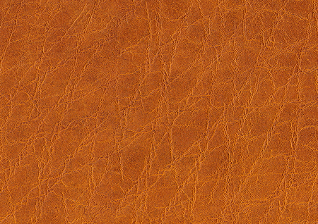 a full frame abstract brown leather background Stock Photo