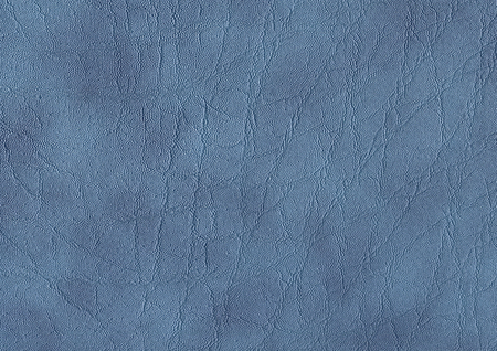 a full frame abstract blue leather background