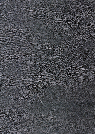 a full frame abstract dark leather background Stock Photo