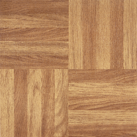 floor covering: full frame squared wooden parquet detail Stock Photo
