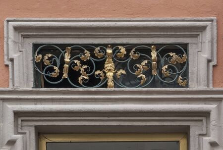 architectural detail in Fulda, a city in Hesse, Germany