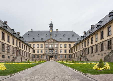 historic building named Stadtschloss in Fulda, a city in Hesse, Germany