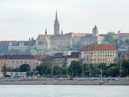 panoramicl view of Budapest, the capital city of Hungary
