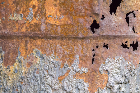 abstract weathered rusty metallic background Stock Photo