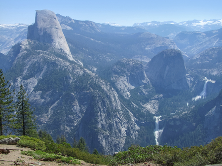 aerial view at the Yosemite National Park in California, USA