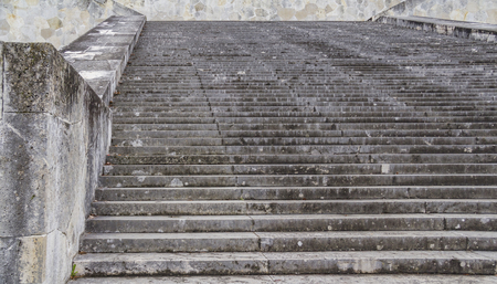 stairway at the Walhalla memorial near Regensburg in Bavaria, Gerrmany