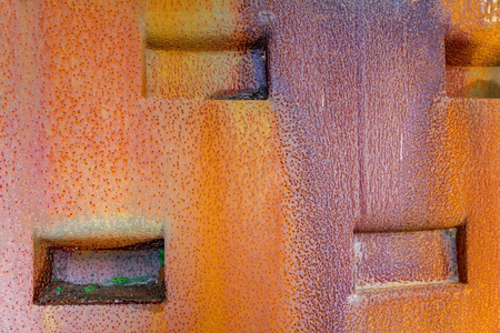 abstract multicolored weathered rusty metallic background