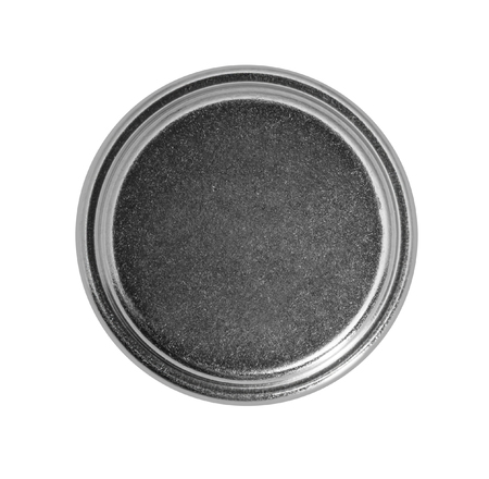 studio photography of a button cell battery isolated in white back 版權商用圖片