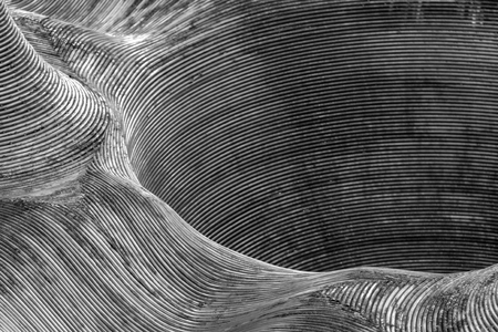 Full frame abstract metallic