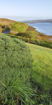 Idyllic waterside scenery in Connemara, a region in County Galway in Ireland