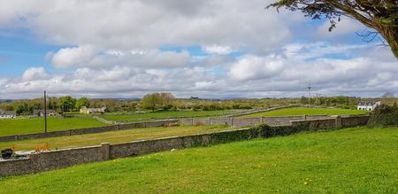 Peaceful scenery around Connemara, a district in Ireland