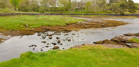 Wetland scenery in Connemara, a area in Ireland