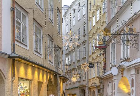 Impression de Salzbourg, une capitale autrichienne au moment de Noël