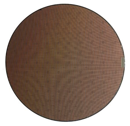 frontal shot of a wafer in white back Stok Fotoğraf