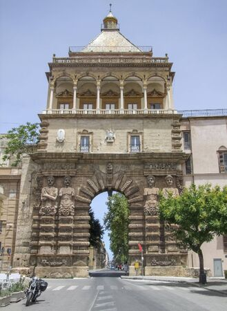 city view of Palermo in Sicily