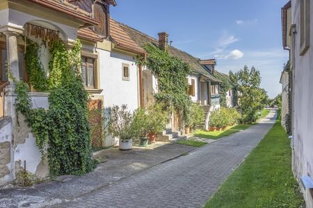 idyllic town named Moerbisch am See, located at the Lake Neusiedl in the austrian state of Burgenland
