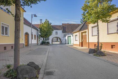 impression of Purbach am Neusiedlersee in Burgenland in Austria
