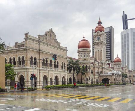 The Sultan Abdul Samad Building in Kuala Lumpur, Malaysia