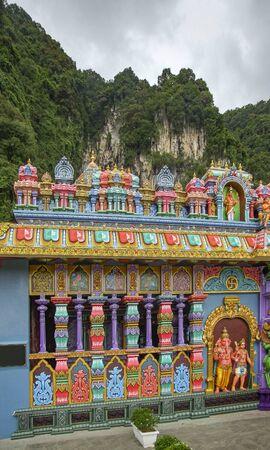 The Batu Caves at Gombak, Selangor in Malaysia