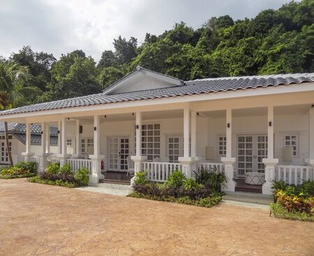 house at Langkawi island in Malaysia
