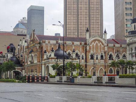 architectural impression of Kuala Lumpur, the capital city of Malaysia Фото со стока
