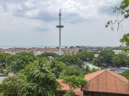 Malacca City, the capital city of Malacca in Malaysia