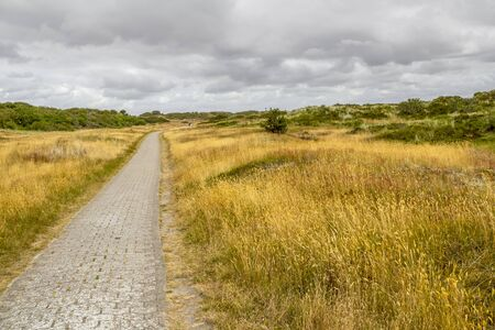 Impression of Spiekeroog, one of the East Frisian Islands at the North Sea coast of Germany