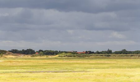 impression of Spiekeroog, one of the East Frisian Islands at the North Sea coast of Germany Фото со стока