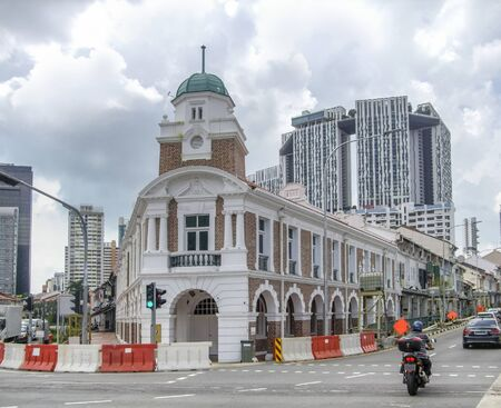 Jinrikisha Station in Singapore, a city-state in Southeast Asia