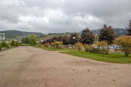 scenery around Gerardmer, a commune in the Vosges department in Grand Est in northeastern France