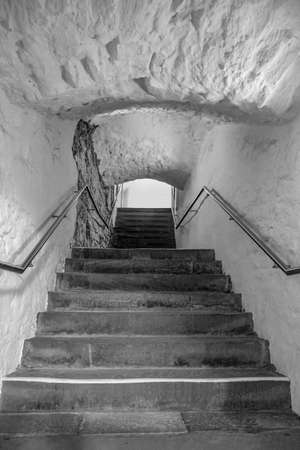 historic passage with stairs