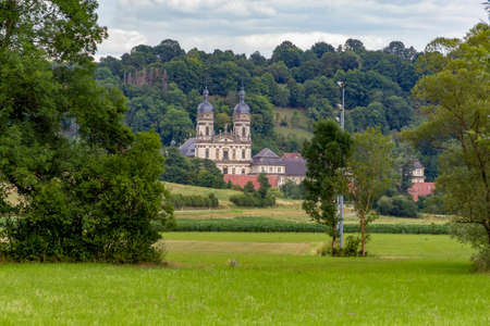 The Schoental located in Hohenlohe, an area in Southern Germany