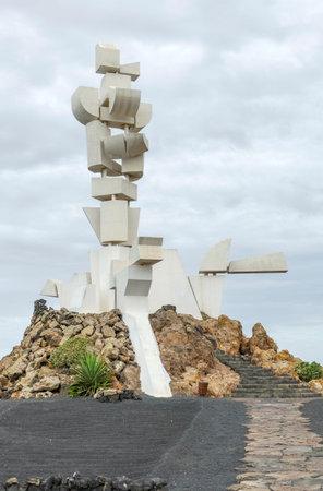 Fundacion Caesar Manrique at Lanzarote, an island of the Canary Islands in the Atlantic Ocean Foto de archivo