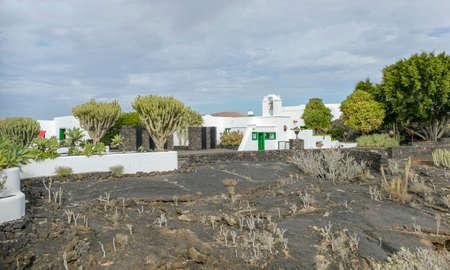 Fundacion Caesar Manrique at Lanzarote, an island of the Canary Islands in the Atlantic Ocean